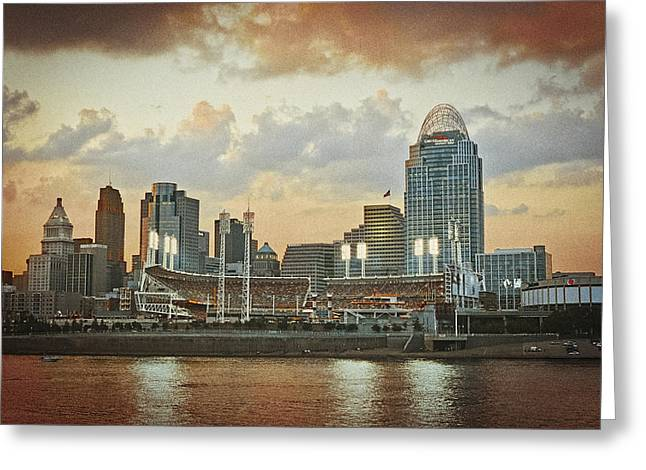 Cincinnati Ohio Vii Greeting Card