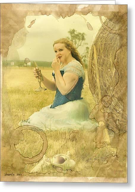 Cinderella Fairy Godmothers Don't Exsist Greeting Card