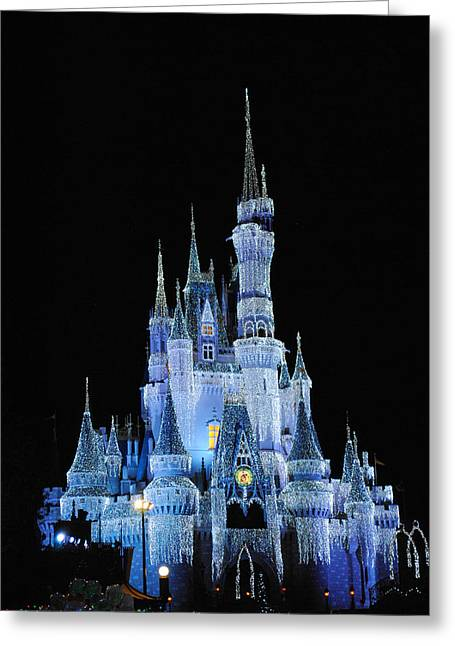 Cinderella's Castle Greeting Card by Robert  Moss