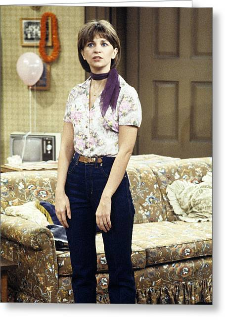 Cindy Williams In Laverne & Shirley  Greeting Card by Silver Screen