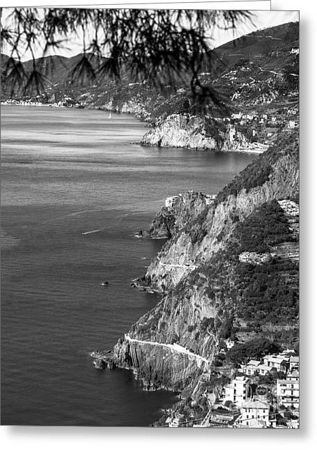 Cinque Terre Coastline Greeting Card