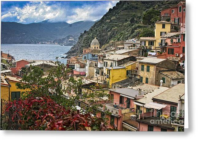 Cinque Terre Hike Greeting Card