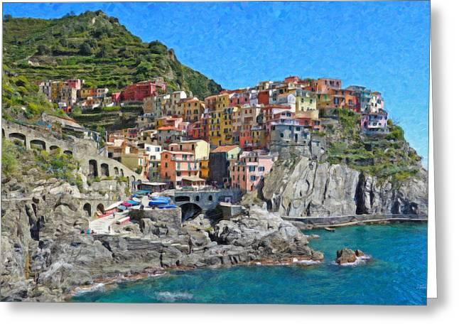 Cinque Terre Itl3403 Greeting Card