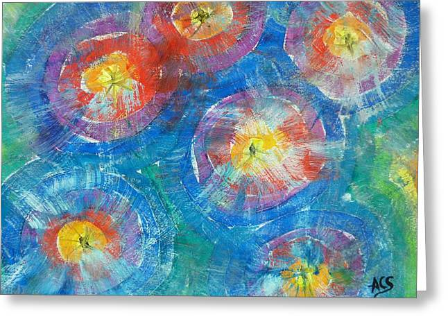 Circle Burst Greeting Card