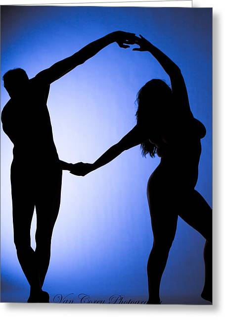 Circle Dance Greeting Card