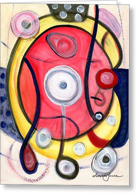 Circle For Lovers Greeting Card