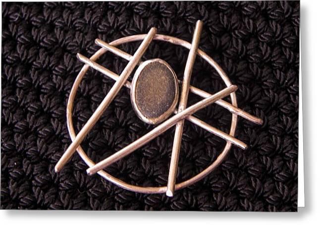 Circle Stone Greeting Card