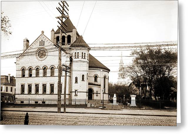 Circular Church, Charleston, S.c, Circular Congregational Greeting Card