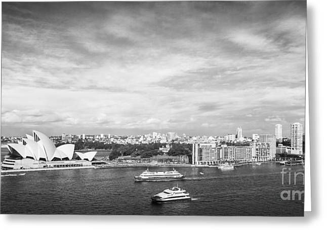 Circular Quay And Sydney Opera House Greeting Card