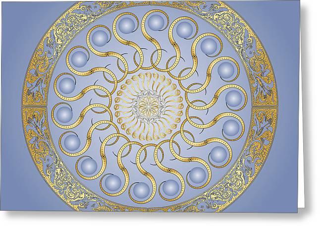 Circularity No. 1448 Greeting Card