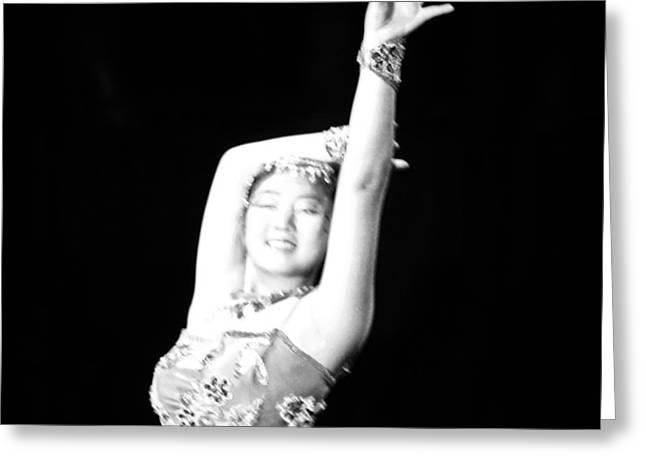 Circus Diva Greeting Card by Carolina Liechtenstein