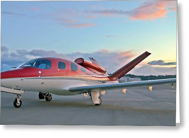 Cirrus Vision Sf50 Greeting Card