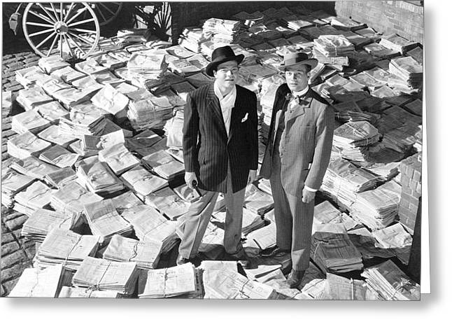 Citizen Kane  Greeting Card by Silver Screen