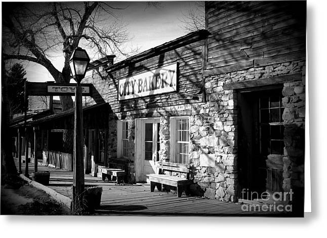 Greeting Card featuring the photograph City Bakery by Janice Westerberg