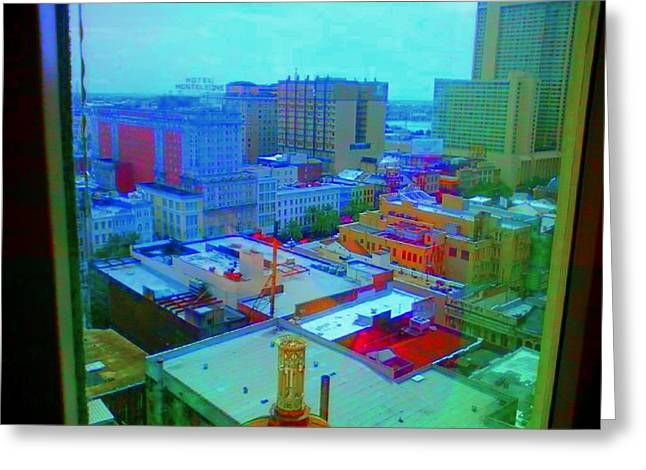 City Blues II Greeting Card