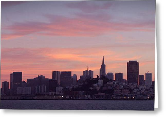 City By The Bay Greeting Card
