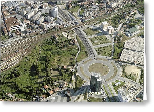 City Center, Vila Nova Da Gaia Greeting Card