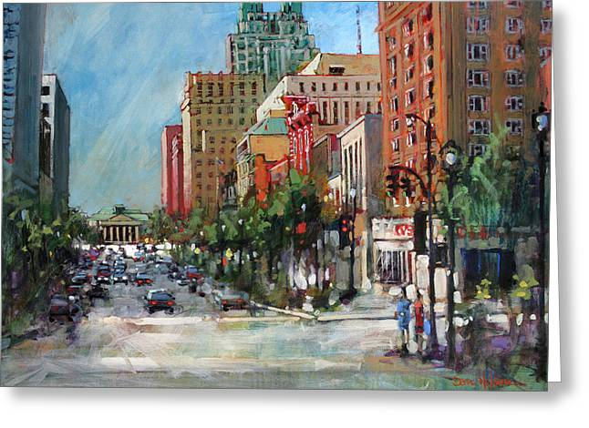 City Color Greeting Card
