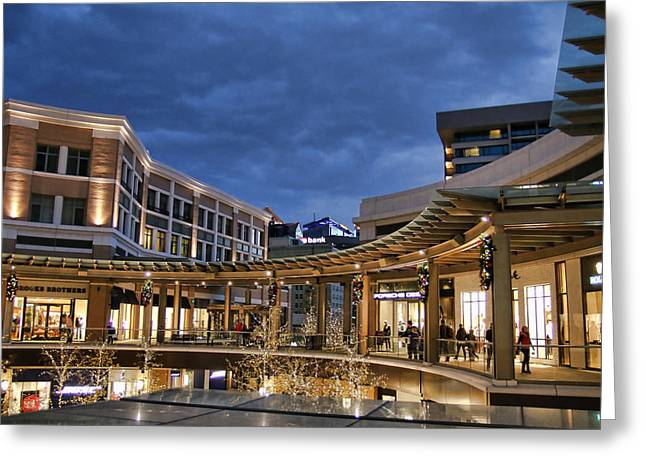 City Creek Greeting Card by Ely Arsha