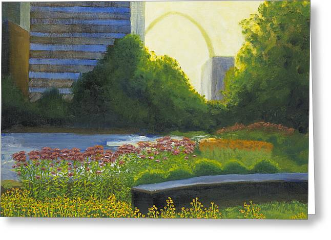 City Garden St. Louis Greeting Card