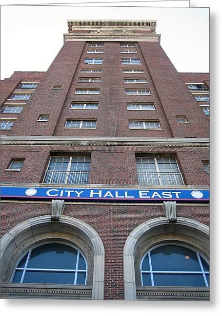 City Hall East Facade Greeting Card