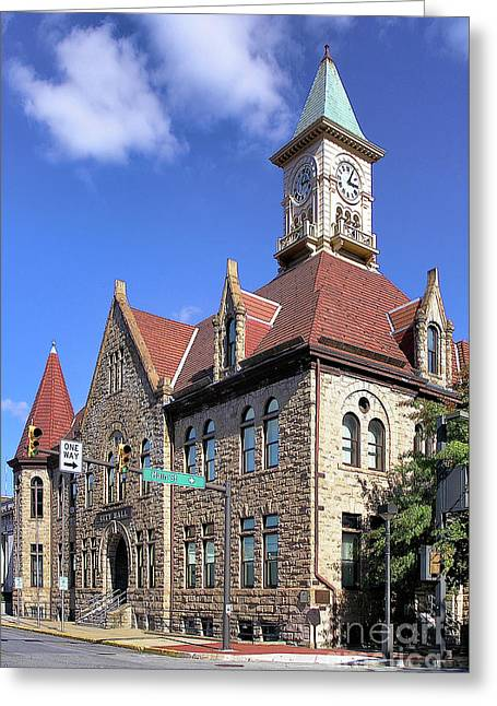 City Hall - Johnstown Pa Greeting Card