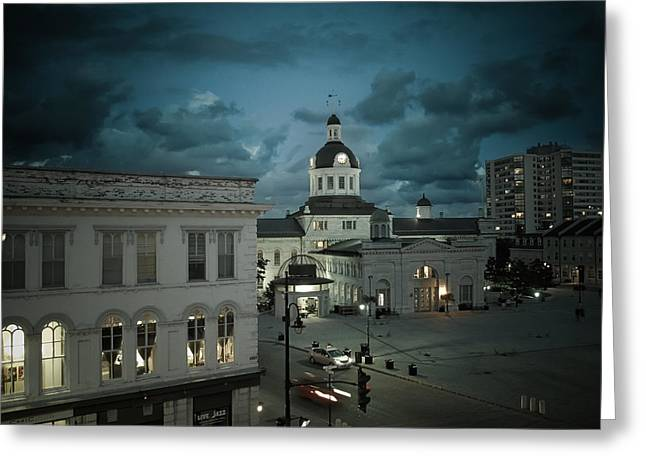 City Hall Greeting Card by Tracy-Lyn Hausen
