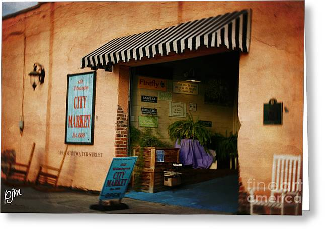 Greeting Card featuring the photograph City Market by Phil Mancuso