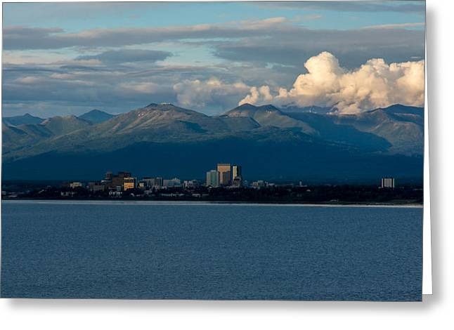 City Of Anchorage  Greeting Card