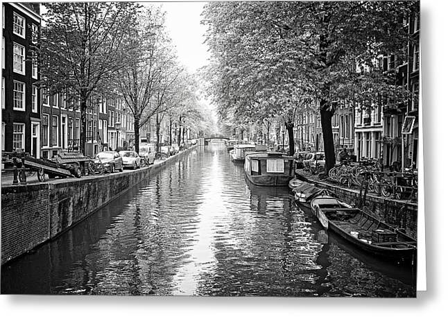 City Of Canals Greeting Card