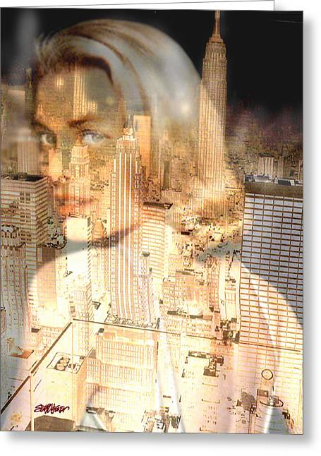 City Of Grace Greeting Card