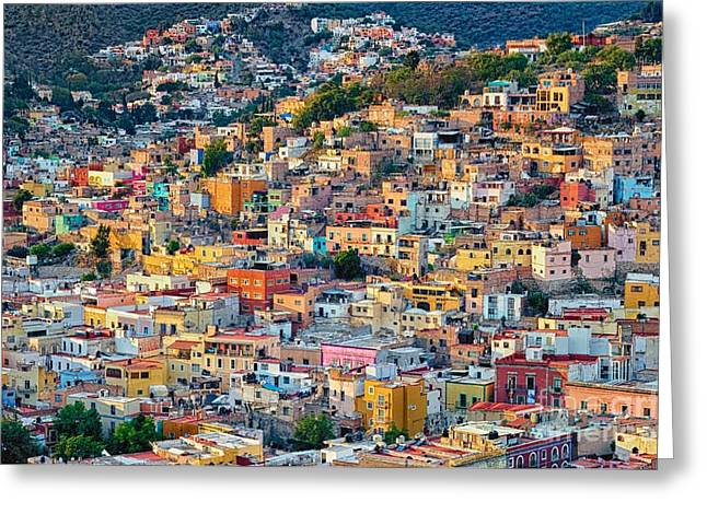City Of Guanajuato Greeting Card