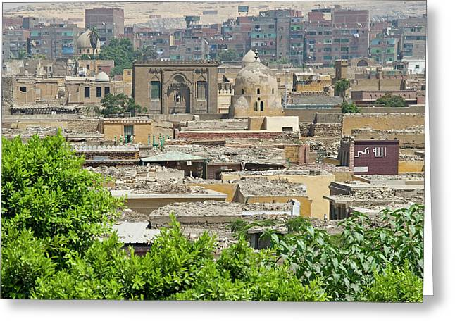 City Of The Dead, Cairo, Egypt Greeting Card