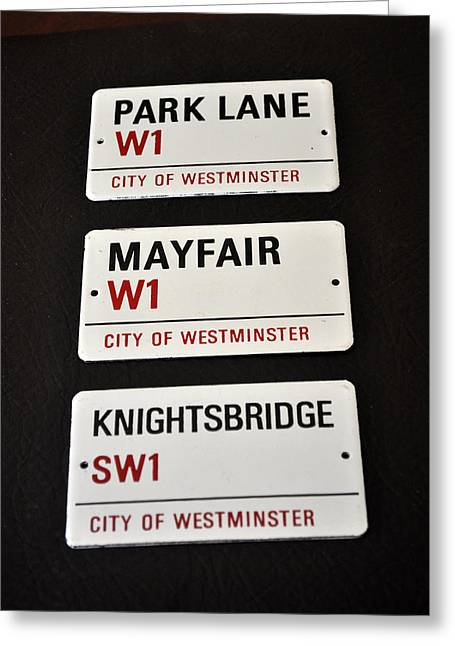City Of Westminster Greeting Card