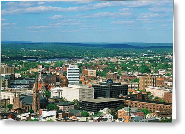 City Skyline, New Jersey Greeting Card