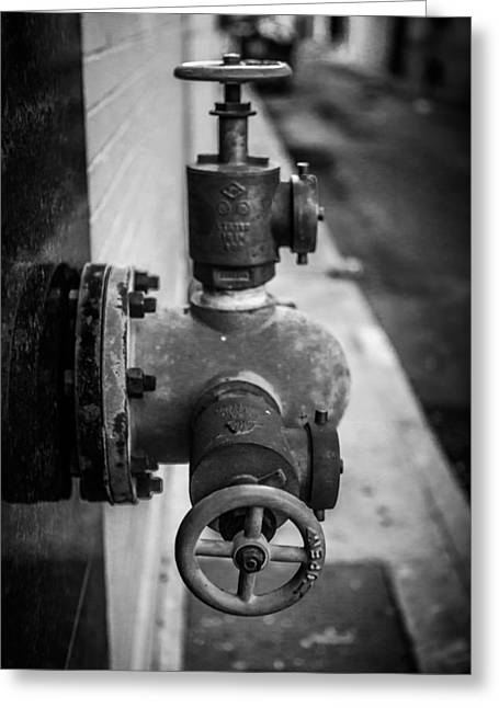 City Valves Greeting Card