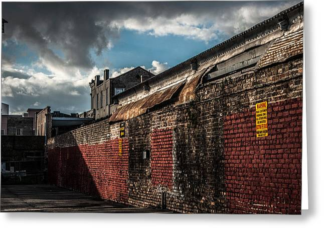 Cityscape 26 A Nola Greeting Card by Otri Park