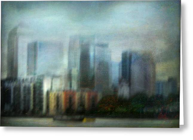 Greeting Card featuring the photograph Cityscape #26 by Alfredo Gonzalez