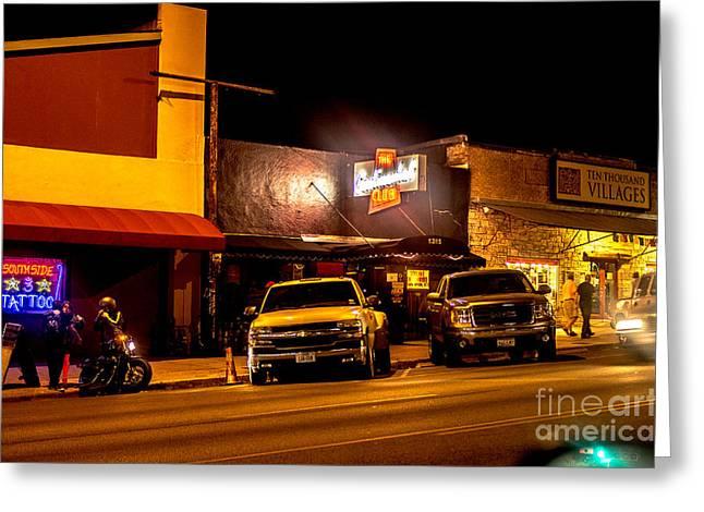 Cityscape A10k Austin Tx Greeting Card by Otri Park