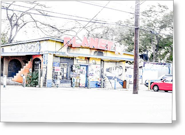 Cityscape A10n Austin Tx Greeting Card by Otri Park