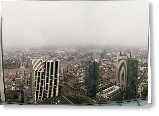 Cityscape Greeting Card by Wladimir Bulgar/science Photo Library