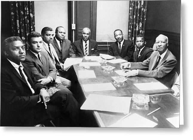 Civil Rights Leaders, 1964 Greeting Card