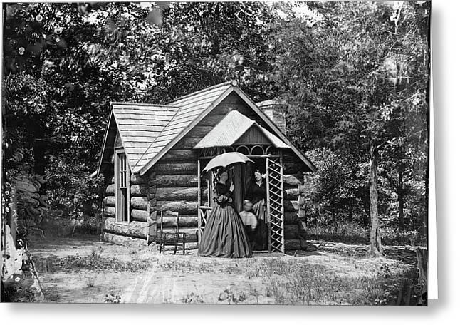 Civil War Bryant House Greeting Card by Granger