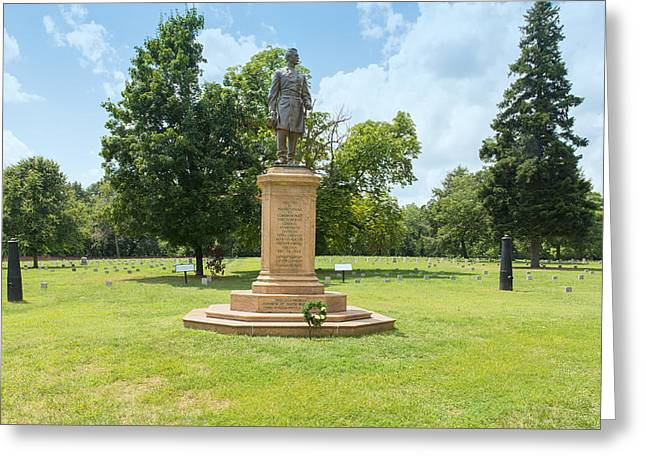 Civil War Memorial To The Fifth Corps Pennsylvania Infantry Greeting Card by John M Bailey