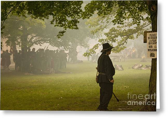Civil War Reenactment 3 Greeting Card