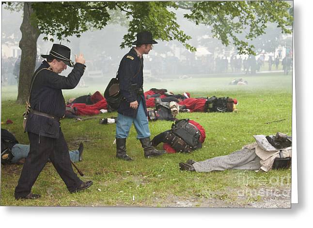 Civil War Reenactment 4 Greeting Card