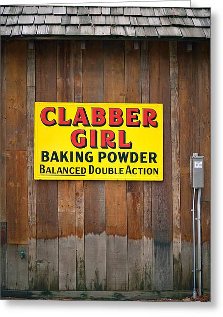 Clabber Girl Greeting Card
