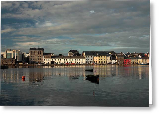 Claddagh  Quays. Greeting Card