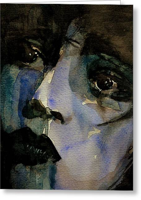 Clara Bow  Greeting Card by Paul Lovering
