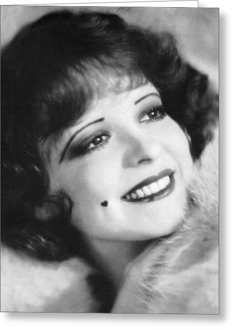 Clara Bow, the It Girl Greeting Card